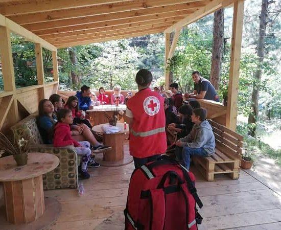 лекция БЧК по време на лагер