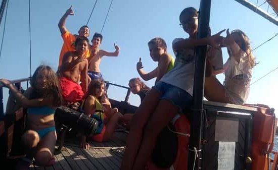 летен лагер разходка с корабче