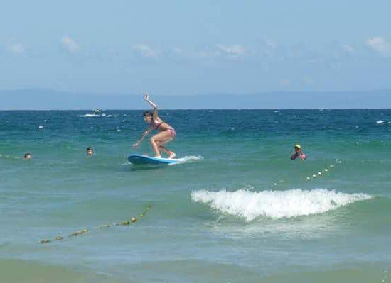 морски лагер програма сърф