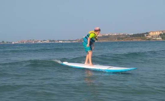 морски лагер със сърф за деца