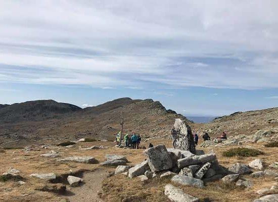 Група 2018 на платото в Пирин