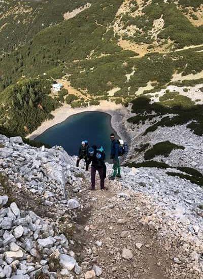 Слизане от връх Синаница