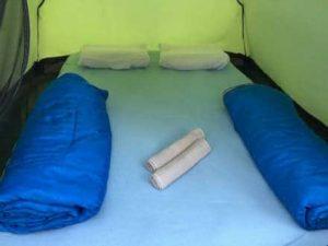 палатка на рафтинг кемп Адвенчър Нет