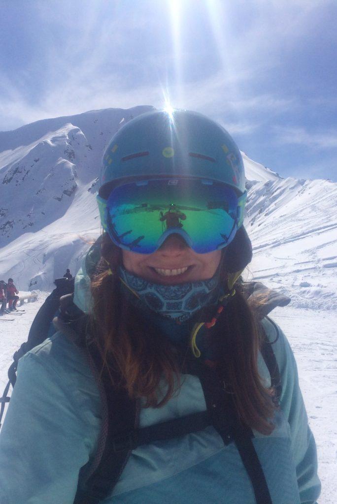 Емилия Бегунова ски и сноуборд инструктор