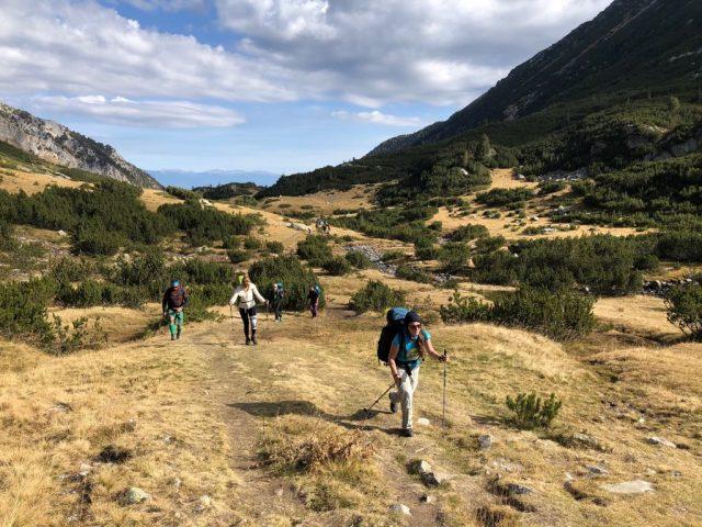 Списък за преход в планината