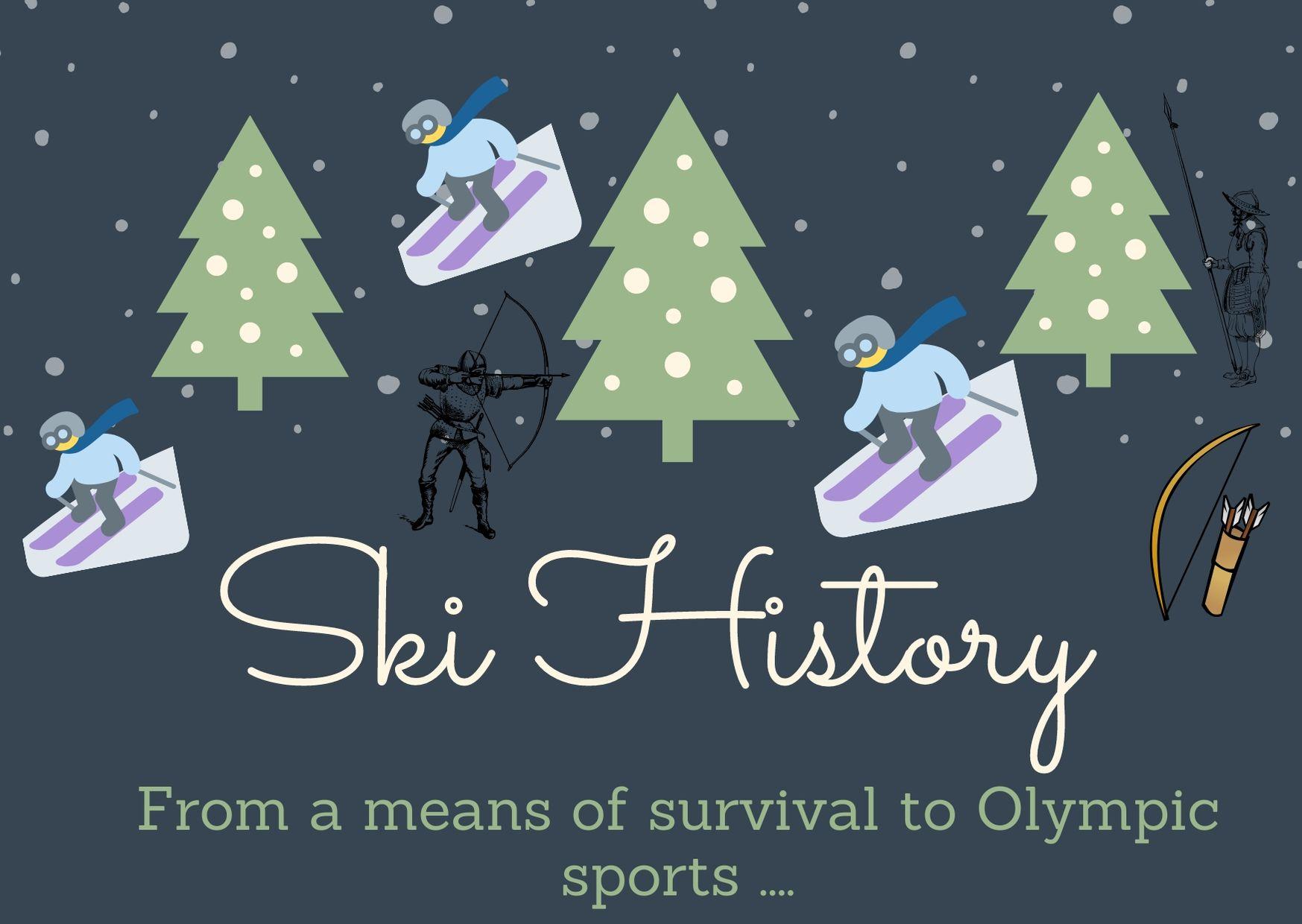 историята на ските