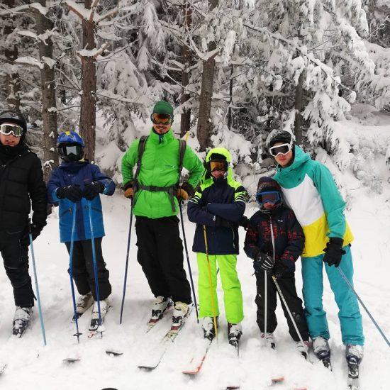 ски и сноборд училище за деца, възрастни