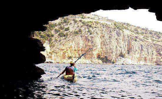 пещера остров Тасос
