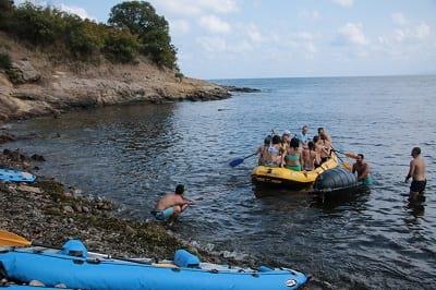 тиймбилдинг игри с лодка